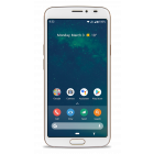 8080 - 4G Smartphone (Wit-Koper)