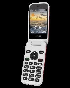 DUMMIE 6620 - 3G Klaptelefoon (Rood-Wit)