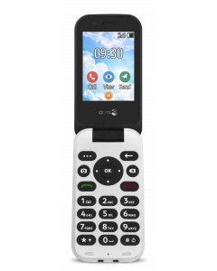 DUMMIE 7030 - 4G Klaptelefoon (Zwart)