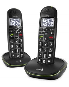 PhoneEasy 110 Duo Zwart