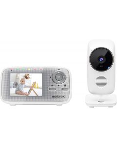 "MBP481AXL video babymonitor - 2.4"" - nachtzicht - wit"