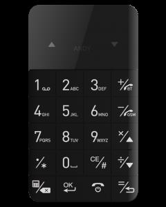 CardPhone Zwart