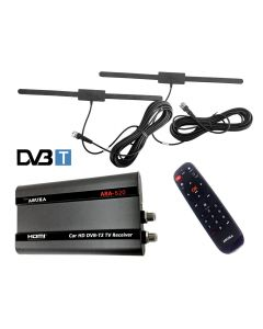 ARA-620 DVBT-DVB-T2 /AC3 CAR TV RECEIVER