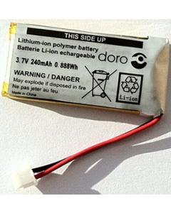 Batterij voor Draadloze headset HS1910
