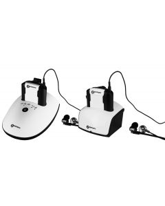CL7350 TV Headset +125dB OPTICLIP DUOSET