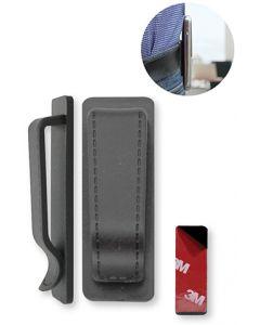 Clip-02 Universele Riemclip voor GSM's, Walkie-talkies, draadloze toestellen (1 stuk)