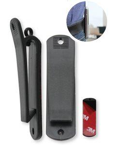 Clip-03 Universele Riemclip voor GSM's, Walkie-talkies, draadloze toestellen (10 stuks)