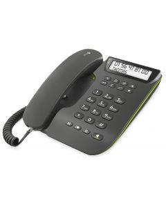 vaste telefoontoestel Doro comfort 3000 met telefoonboek en luide telefoonhoorn.