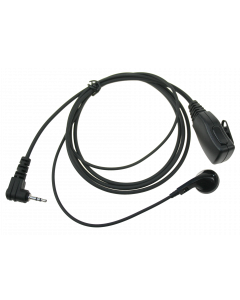 EP-0401S1 In-Ear Oortje + PTT 2.5MM (1PIN Syco)