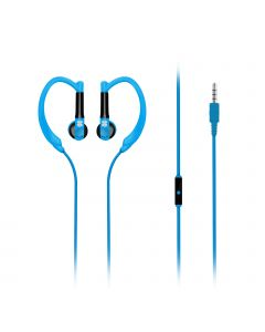 Gaudy - Universele Vibrant In-Ear Sport headset (Blauw)