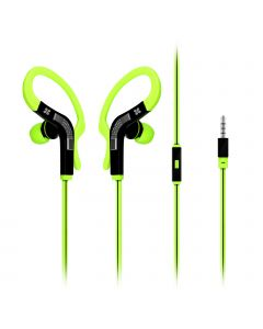 Snazzy In-Ear Sport Earbuds / Oortjes met haak (Groen)