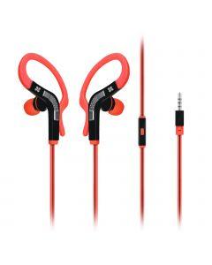 Snazzy In-Ear Sport Earbuds / Oortjes met haak (Roze)