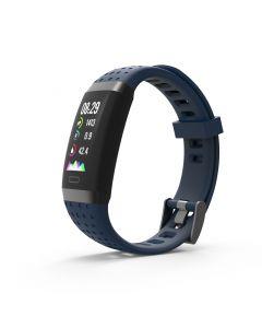 SW-380HR Smartwatch met Hartslagmeter (Blauw)