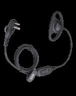 EHM15 oordopjes met oortje (geïntegreerde microfoon, VOX of PTT controle)
