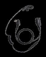 EHM19 C-vormige oortelefoon met microfoon PTT