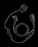 EHM20 C-vormige oortelefoon met microfoon PTT
